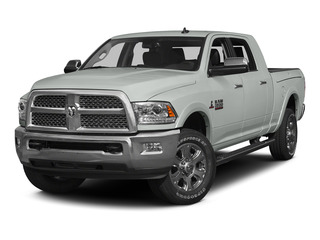 Bright White Clearcoat 2015 Ram Truck 3500 Pictures 3500 Mega Cab Limited 4WD photos front view