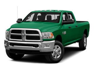 Bright Green 2015 Ram Truck 3500 Pictures 3500 Crew Cab SLT 2WD photos front view
