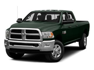 Black Forest Green Pearlcoat 2015 Ram Truck 3500 Pictures 3500 Crew Cab SLT 2WD photos front view