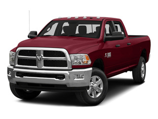 Deep Cherry Red Crystal Pearlcoat 2015 Ram Truck 3500 Pictures 3500 Crew Cab Laramie 4WD photos front view