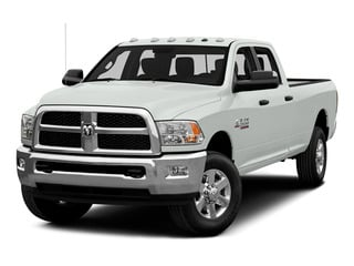 Bright White Clearcoat 2015 Ram Truck 3500 Pictures 3500 Crew Cab SLT 2WD photos front view