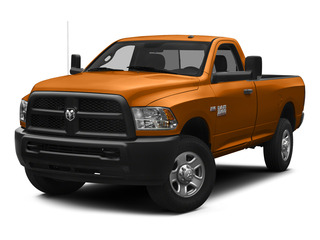 Omaha Orange 2015 Ram Truck 3500 Pictures 3500 Regular Cab Tradesman 4WD photos front view