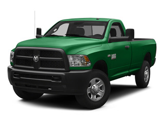 Bright Green 2015 Ram Truck 3500 Pictures 3500 Regular Cab Tradesman 4WD photos front view