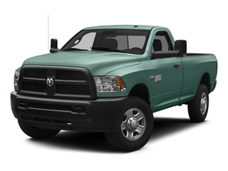 Light Green 2015 Ram Truck 3500 Pictures 3500 Regular Cab Tradesman 4WD photos front view