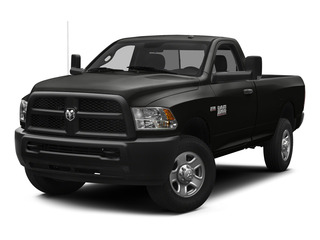 Brilliant Black Crystal Pearlcoat 2015 Ram Truck 3500 Pictures 3500 Regular Cab Tradesman 4WD photos front view