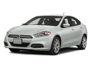 Bright White Clearcoat 2015 Dodge Dart Pictures Dart Sedan 4D Rallye I4 photos front view
