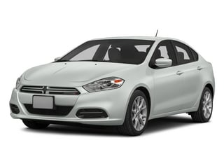 Bright White Clearcoat 2015 Dodge Dart Pictures Dart Sedan 4D Limited I4 photos front view