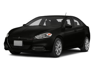 Pitch Black Clearcoat 2015 Dodge Dart Pictures Dart Sedan 4D Limited I4 photos front view