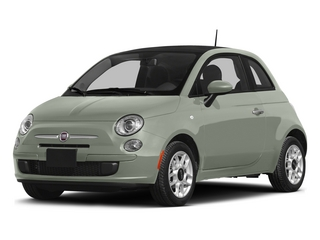 Verde Chiaro (Light Green) 2015 FIAT 500 Pictures 500 Hatchback 3D Sport I4 photos front view
