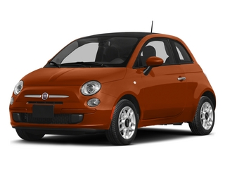 Rame (Copper) 2015 FIAT 500 Pictures 500 Hatchback 3D Sport I4 photos front view