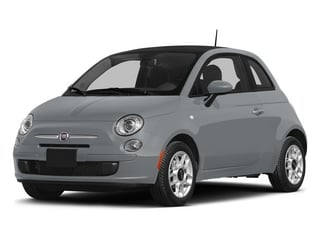 Billet Argento (Silver) 2015 FIAT 500 Pictures 500 Hatchback 3D Sport I4 photos front view