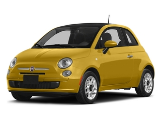 Giallo Moderna Perla (Pearl Yellow TC) 2015 FIAT 500 Pictures 500 Hatchback 3D Sport I4 photos front view