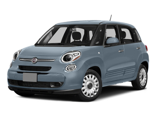 Blu Chiaro (Light Blue) 2015 FIAT 500L Pictures 500L Hatchback 5D L Easy I4 Turbo photos front view