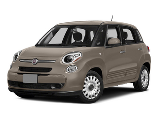 Mocha Latte 2015 FIAT 500L Pictures 500L Hatchback 5D L Easy I4 Turbo photos front view