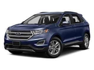 Deep Impact Blue Metallic 2015 Ford Edge Pictures Edge Utility 4D SE AWD I4 Turbo photos front view