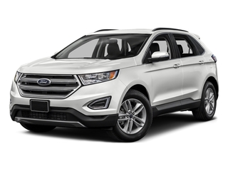 Oxford White 2015 Ford Edge Pictures Edge Utility 4D SE 2WD V6 photos front view
