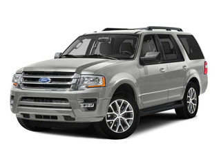White Platinum Metallic Tri-Coat 2015 Ford Expedition Pictures Expedition Utility 4D XLT 4WD photos front view