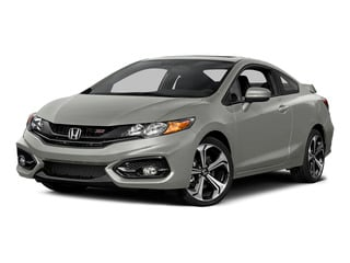 Alabaster Silver Metallic 2015 Honda Civic Coupe Pictures Civic Coupe 2D Si I4 photos front view
