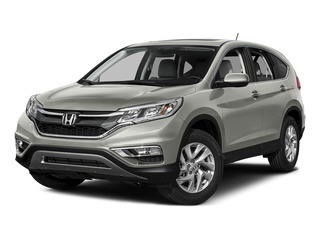 Alabaster Silver Metallic 2015 Honda CR-V Pictures CR-V Utility 4D EX AWD I4 photos front view