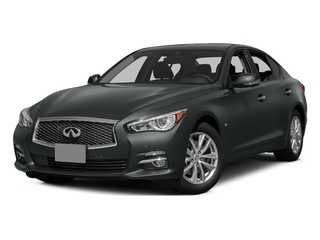 Graphite Shadow 2015 INFINITI Q50 Pictures Q50 Sedan 4D Sport AWD V6 photos front view