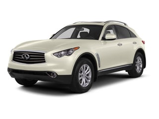 Moonlight White 2015 INFINITI QX70 Pictures QX70 Utility 4D 2WD V6 photos front view