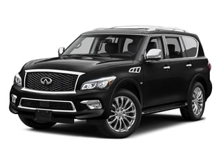 Black Obsidian 2015 INFINITI QX80 Pictures QX80 Utility 4D AWD V8 photos front view