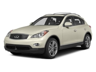Moonlight White 2015 INFINITI QX50 Pictures QX50 Utility 4D 2WD V6 photos front view