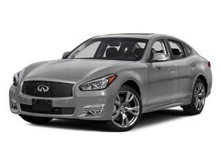 Liquid Platinum 2015 INFINITI Q70 Pictures Q70 Sedan 4D AWD V8 photos front view