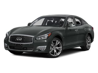 Graphite Shadow 2015 INFINITI Q70 Pictures Q70 Sedan 4D AWD V8 photos front view