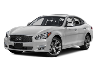 Moonlight White 2015 INFINITI Q70 Pictures Q70 Sedan 4D AWD V8 photos front view