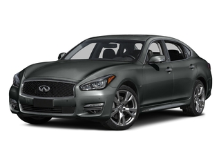 Graphite Shadow 2015 INFINITI Q70L Pictures Q70L Sedan 4D LWB AWD V8 photos front view