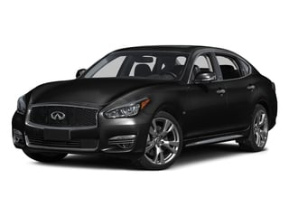 Black Obsidian 2015 INFINITI Q70L Pictures Q70L Sedan 4D LWB AWD V8 photos front view