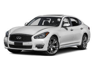 Moonlight White 2015 INFINITI Q70L Pictures Q70L Sedan 4D LWB AWD V8 photos front view