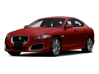 Italian Racing Red 2015 Jaguar XF Pictures XF Sedan 4D XFR V8 Supercharged Speed photos front view