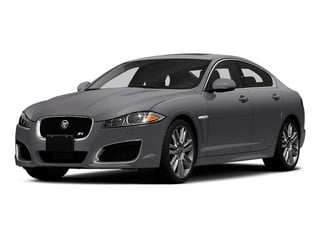 Lunar Gray Metallic 2015 Jaguar XF Pictures XF Sedan 4D XFR V8 Supercharged photos front view