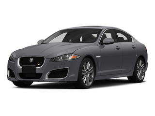 Lunar Gray Metallic 2015 Jaguar XF Pictures XF Sedan 4D XFR V8 Supercharged Speed photos front view