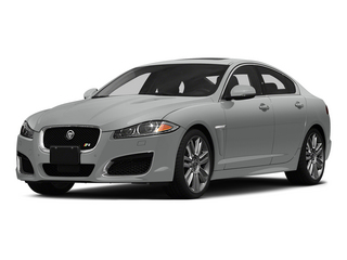 Rhodium Silver Metallic 2015 Jaguar XF Pictures XF Sedan 4D XFR V8 Supercharged Speed photos front view