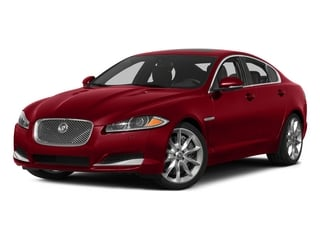 Italian Racing Red 2015 Jaguar XF Pictures XF Sed 4D Portfolio AWD V6 Supercharged photos front view