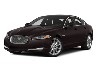 Caviar Metallic 2015 Jaguar XF Pictures XF Sed 4D Portfolio AWD V6 Supercharged photos front view