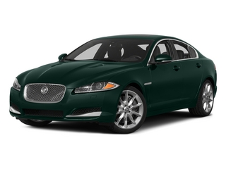 British Racing Green 2015 Jaguar XF Pictures XF Sed 4D Portfolio AWD V6 Supercharged photos front view