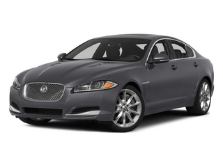 Lunar Gray Metallic 2015 Jaguar XF Pictures XF Sed 4D Portfolio AWD V6 Supercharged photos front view