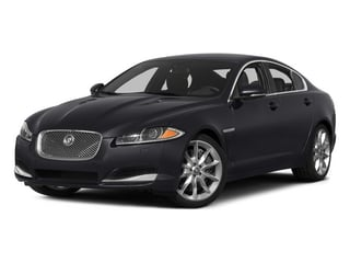 Stratus Gray Metallic 2015 Jaguar XF Pictures XF Sed 4D Portfolio AWD V6 Supercharged photos front view