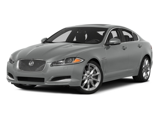 Rhodium Silver Metallic 2015 Jaguar XF Pictures XF Sed 4D Portfolio AWD V6 Supercharged photos front view