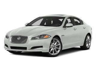 Polaris White 2015 Jaguar XF Pictures XF Sed 4D Portfolio AWD V6 Supercharged photos front view