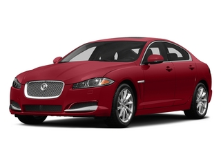 Italian Racing Red 2015 Jaguar XF Pictures XF Sedan 4D V8 Supercharged photos front view