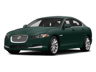 British Racing Green 2015 Jaguar XF Pictures XF Sedan 4D V8 Supercharged photos front view