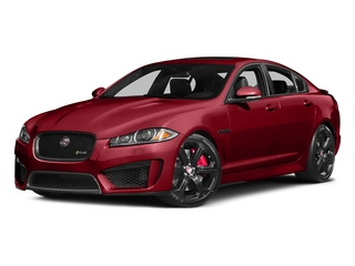 Italian Racing Red 2015 Jaguar XF Pictures XF Sedan 4D XFR-S V8 Supercharged photos front view