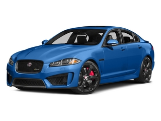 Ultra Blue 2015 Jaguar XF Pictures XF Sedan 4D XFR-S V8 Supercharged photos front view