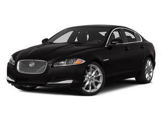 Ultimate Black Metallic 2015 Jaguar XF Pictures XF Sedan 4D Sport V6 Supercharged photos front view