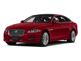 Italian Racing Red 2015 Jaguar XJ Pictures XJ Sedan 4D V6 photos front view